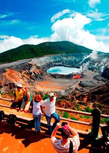 Zu Besuch im Nationalpark Vulkan Poás