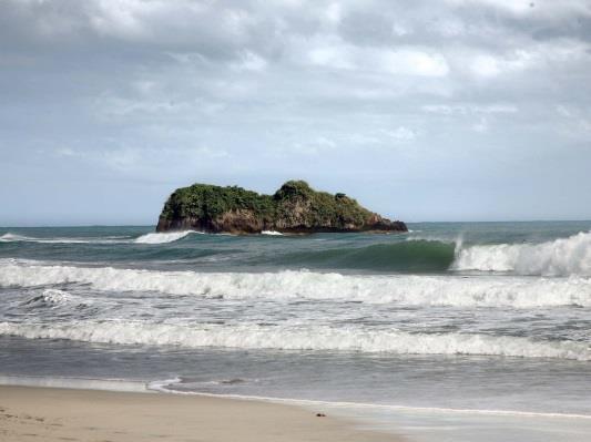 Heute sind wir in Puerto Viejo de Talamanca aufgewacht