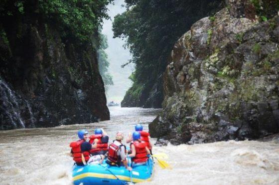 Rafting auf dem Rio Pacuare
