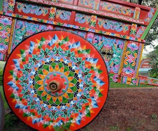 """Neues Kulturprojekt gestartet: """"Un pueblo con color"""""""
