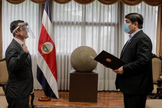 Quoi de neuf au Costa Rica ? Le Costa Rica a un nouveau Ministre du Tourisme