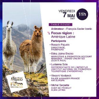 L'Amérique Latine sera à l'honneur dans les Ateliers d'IFTM avec la participation de L'Office du Tourisme du Costa Rica
