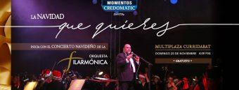 Concierto Navideño de la Orquesta Filarmónica