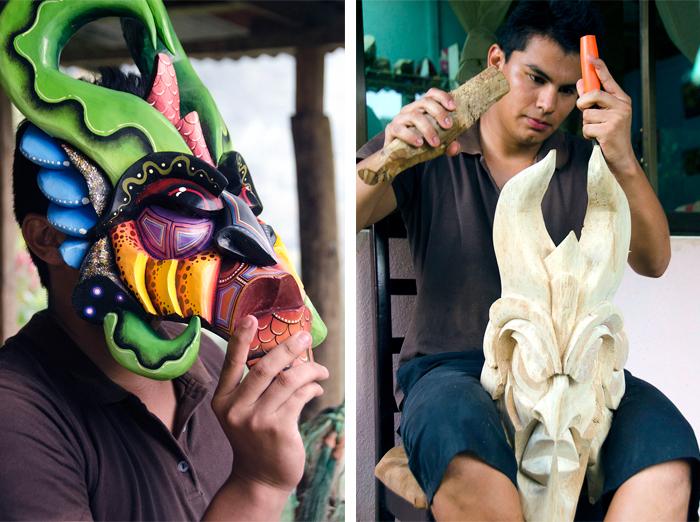 Proceso de creación de máscaras