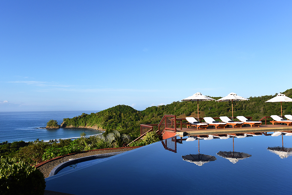 Infinity edge pool del Hotel Puntaislita