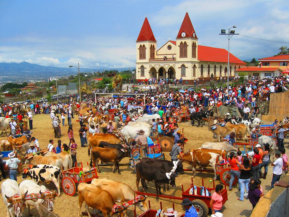 Iglesia de San Antonio de Padua. Escazú, provincia de San José, Costa Rica