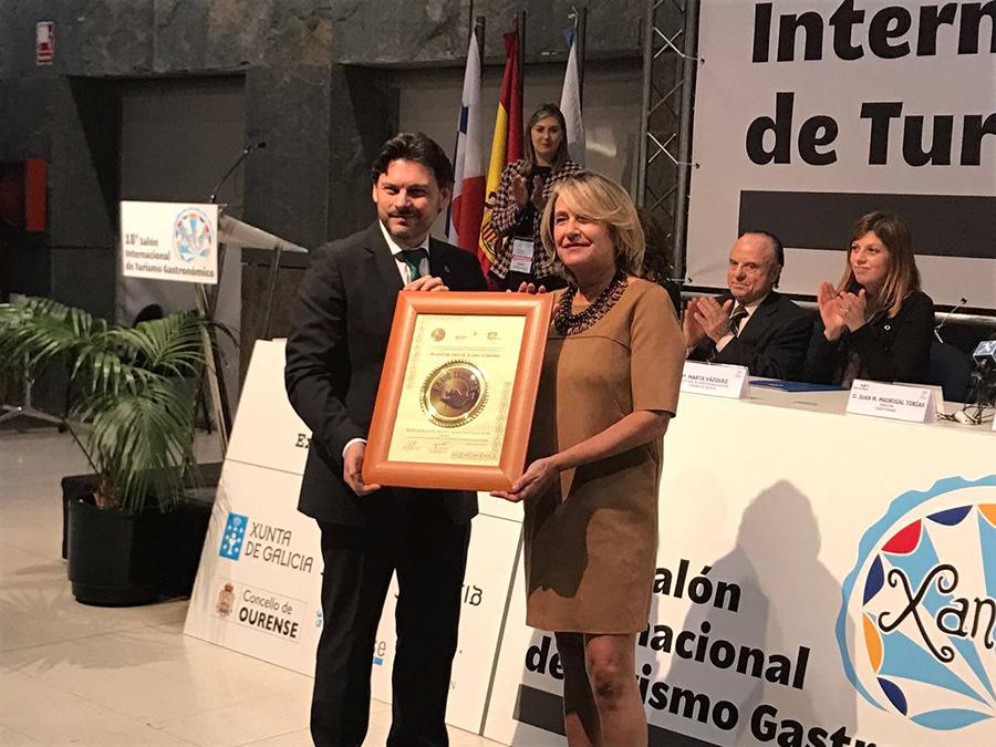 El restaurante del hotel Barceló San José recibe el Plato de oro en Xantar 2017