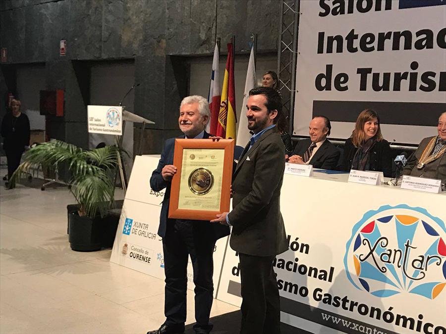 El restaurante Don Rufino recibe el Plato de Oro en Xantar 2017