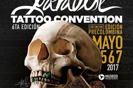 Tatuaje precolombino y su reinterpretación contemporánea. Paradise Tattoo Convention