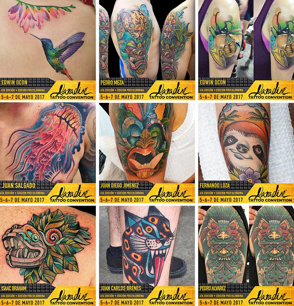 Catalogo Tattoo 2017 tatuaje precolombino y su reinterpretación contemporánea