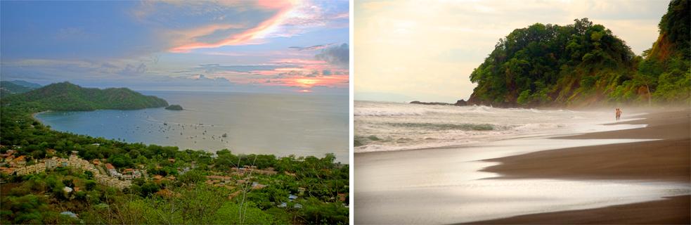Playas del Coco y playa Hermosa, paraísos naturales