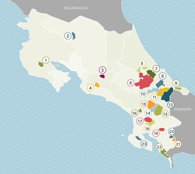 territorios indígenas de Costa Rica
