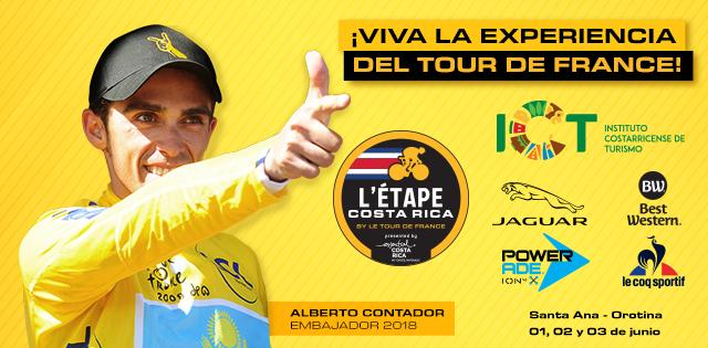 Alberto Contador embajador 2018 de La Etapa Costa Rica
