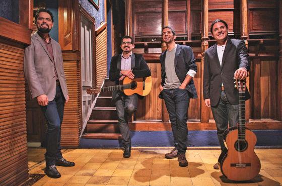 Cuarteto de Guitarras de Costa Rica en el Teatro Nacional