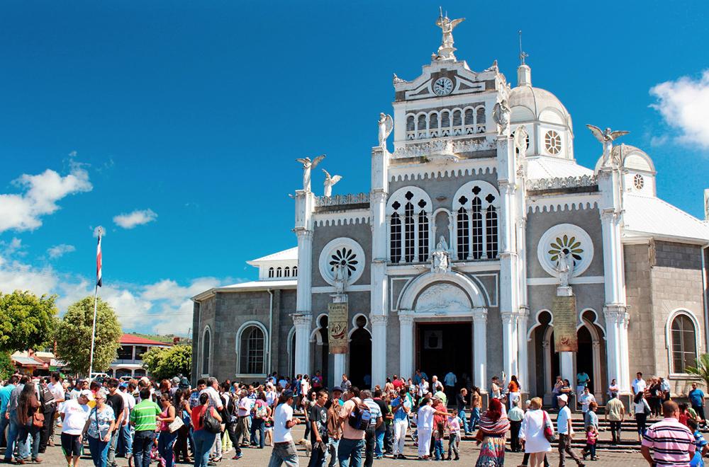 Basílica de nuestra señora de los Ángeles.