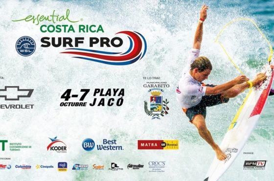 Essential Costa Rica Surf Pro – del 4 al 7 de octubre en Playa Jacó