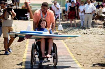 Jacó, en Costa Rica, primera playa de accesibilidad universal de Centroamérica