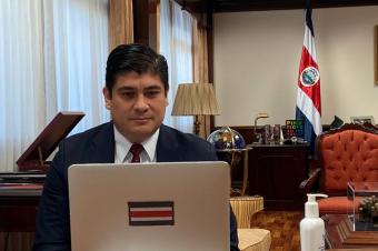 El Gobierno costarricense anuncia nuevas medidas para el funcionamiento del país