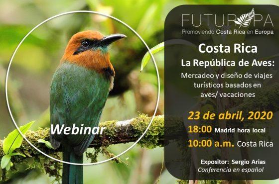 Costa Rica, la república de aves.