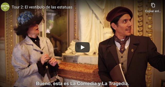 Conoce Teatro Nacional desde dentro a través de vídeos teatralizados.