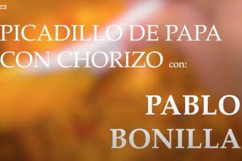 Receta de Picadillo de Papa con Chorizo