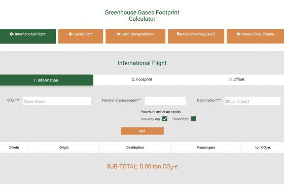 Costa Rica presenta una iniciativa para reducir la huella de carbono en los viajes