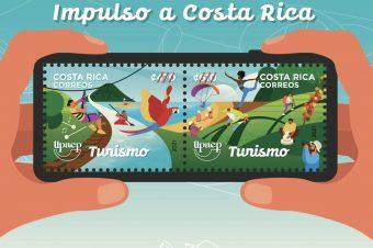 Un pedacito de Costa Rica por todo el mundo a través de la filatelia